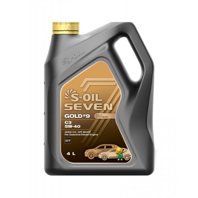 S-OIL 7 GOLD #9 C3 5W-40 4л