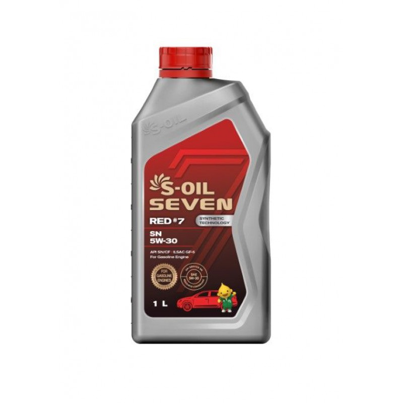 S-Oil 7 RED#7 SN 5w-30 1л
