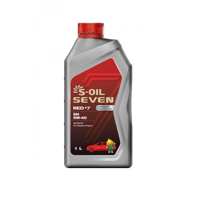 S-Oil 7 RED#7 SN 5w-40 1л