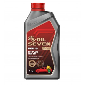 S-Oil 7 RED#9 SN PLUS 0w-20 4л