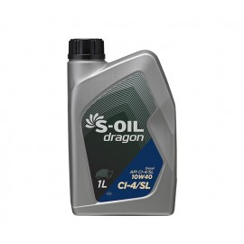 S-Oil Dragon CI-4/SL 10W40 1л