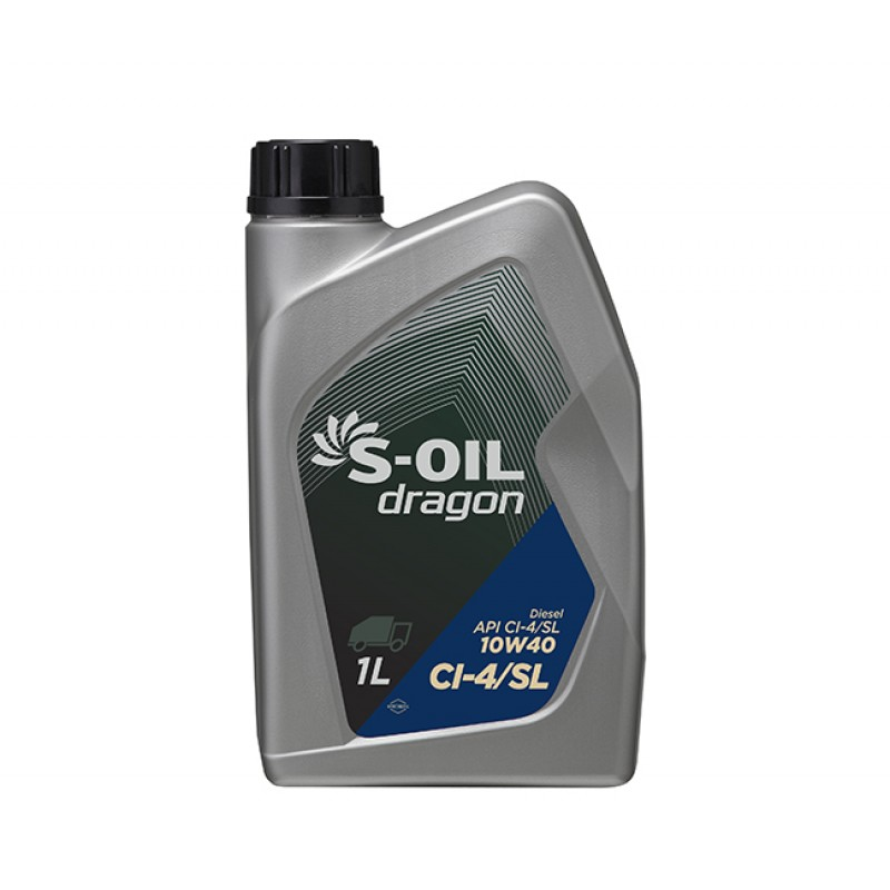 S-Oil Dragon CI-4/SL 10W40 20л