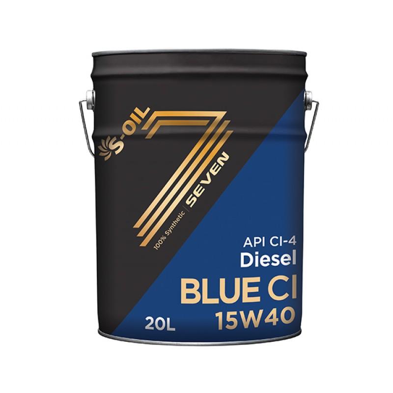 S-Oil Seven Blue CI-4 15W40 20л