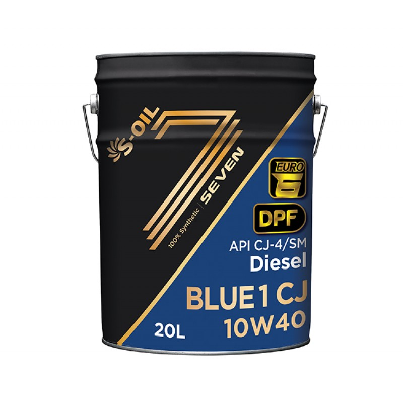 S-Oil Seven Blue1 CJ-4 10W40 6л