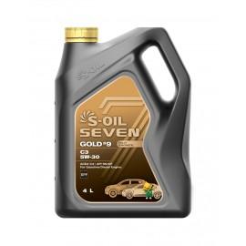 S-OIL 7 GOLD #9 C3 5W-30 4л
