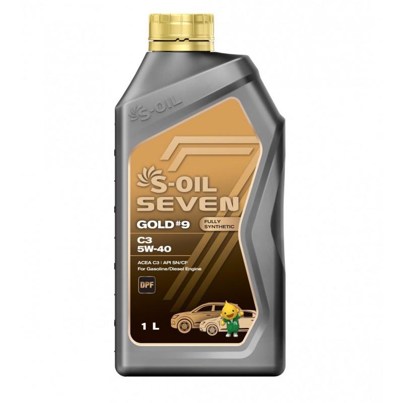 S-OIL 7 GOLD #9 C3 5W-40 1л