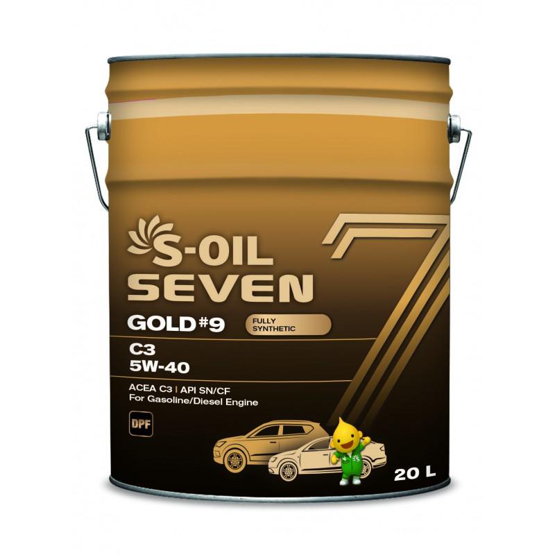 S-OIL 7 GOLD #9 C3 5W-40 20л